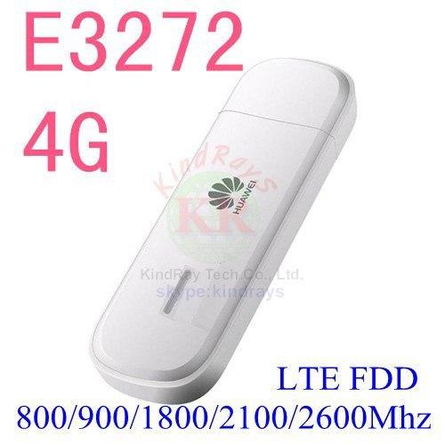 Unlock lte fdd 150 mbps huawei e3272 4g usb módem 3g stick fdd 800/900/1800/2100/2600 mhz pk e8372 e3372 e5372 e5577 e5377 e589