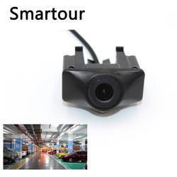 Smartour автомобиля вид спереди камеры для Audi A6L 2012 2013 CCD 480 ТВЛ HD Цвет водонепроницаемый широкоугольный логотип Встроенная камера