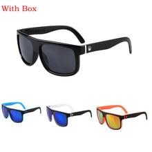 Con Caja de la Marca Diseñador Deporte SunglassesSummer Estilo Las Gafas Al Aire Libre de Los Hombres UV400 Gafas De Sol Hombre Gafas de Sol Masculino