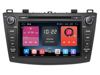 Android 6 0 CAR Audio DVD Player FOR MAZDA 3 2010 2012 Gps Car Multimedia Head