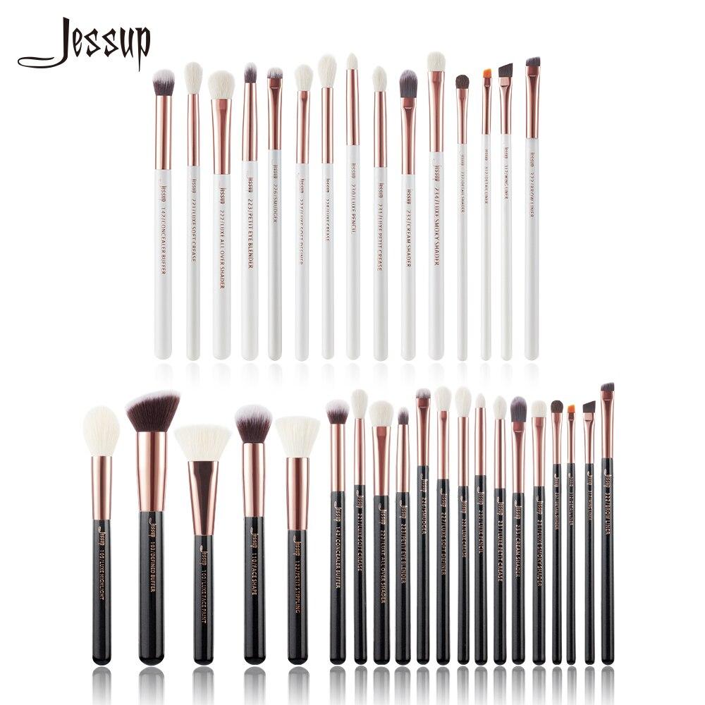 Джессап кисти профессиональный макияж кисти набор косметики щетка инструментов Make up Brush пудра Eye Liner Shader