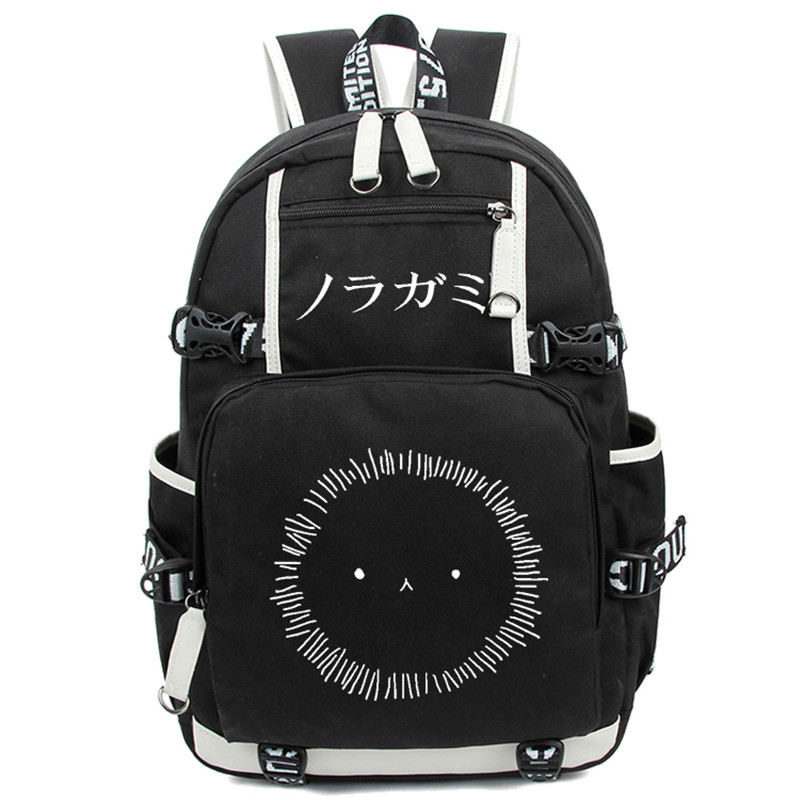 Noragami ARAGOTO YATO Backpack Anime Luminous Shoulder Bag Cosplay Nylon Laptop Travel Schoolbag Free Shipping noragami anime yato bishamonten japanese rubber keychain