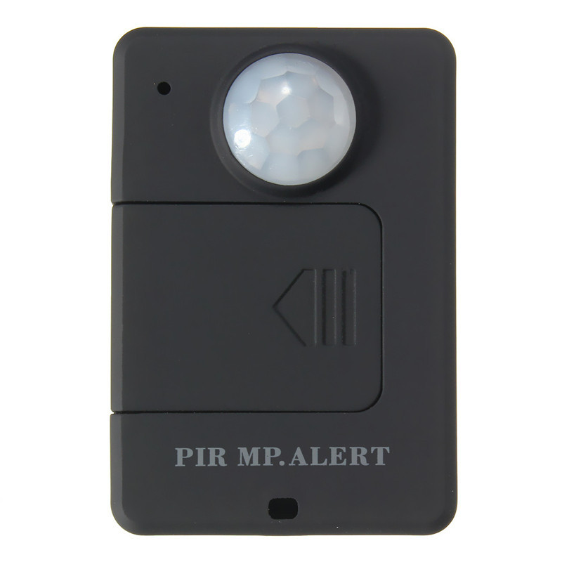 Mini Black Wireless Motion GSM Alert Detection Monitor Infrared Sensor PIR MP Alarm High Sensitivity Durable