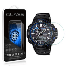 2Pack 0.3MM 2.5D Premium Tempered Glass Screen Protector For Casio G-shock GA-110 GA-100 GA100 GA110 Watch Protective Film