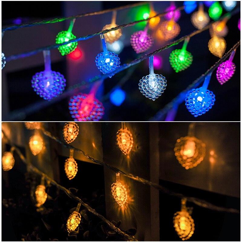 JULELYS 30M 300 bulbs Fairy Dritat Dritat e Krishtlindjeve Garland - Ndriçimi i pushimeve - Foto 4