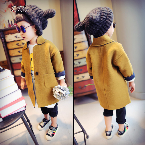 In the autumn of 2016 new men's clothes in the long double coat jacket coat free shipping
