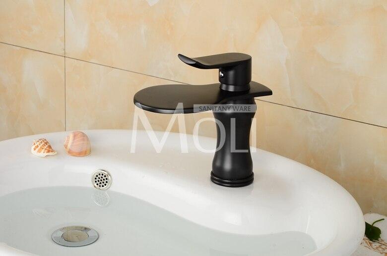 Badkamer Kraan Zwart : Moderne ontwerp zwart kraan voor badkamer hoge kwaliteit wit