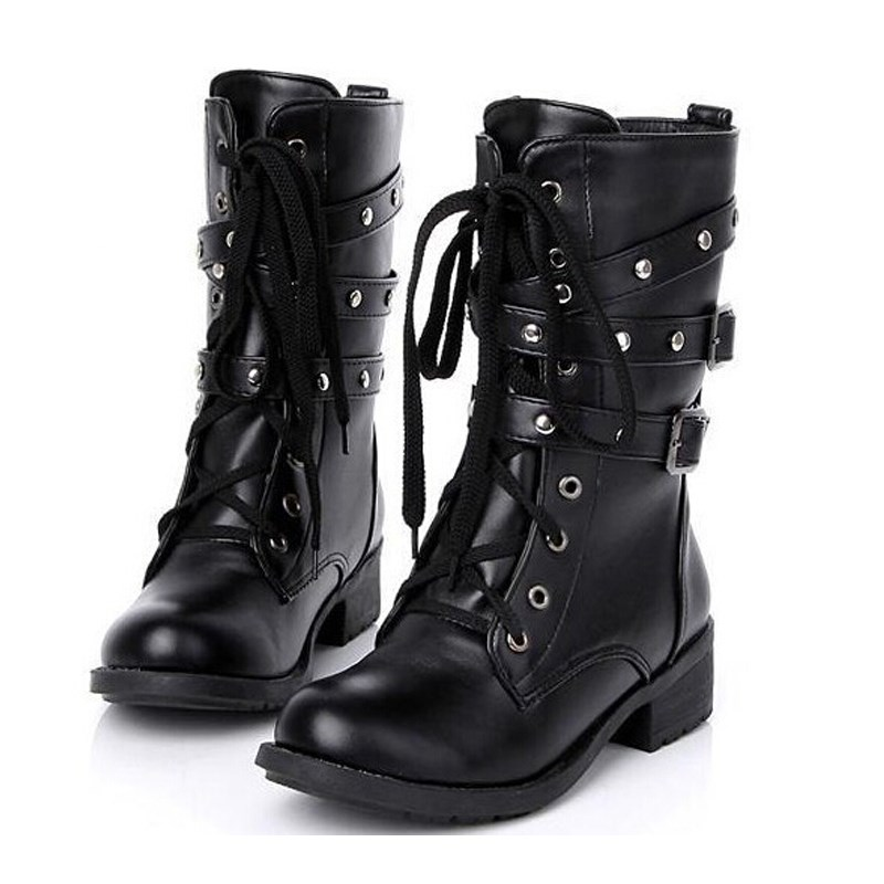 Online Get Cheap Biker Leather Boots -Aliexpress.com | Alibaba Group