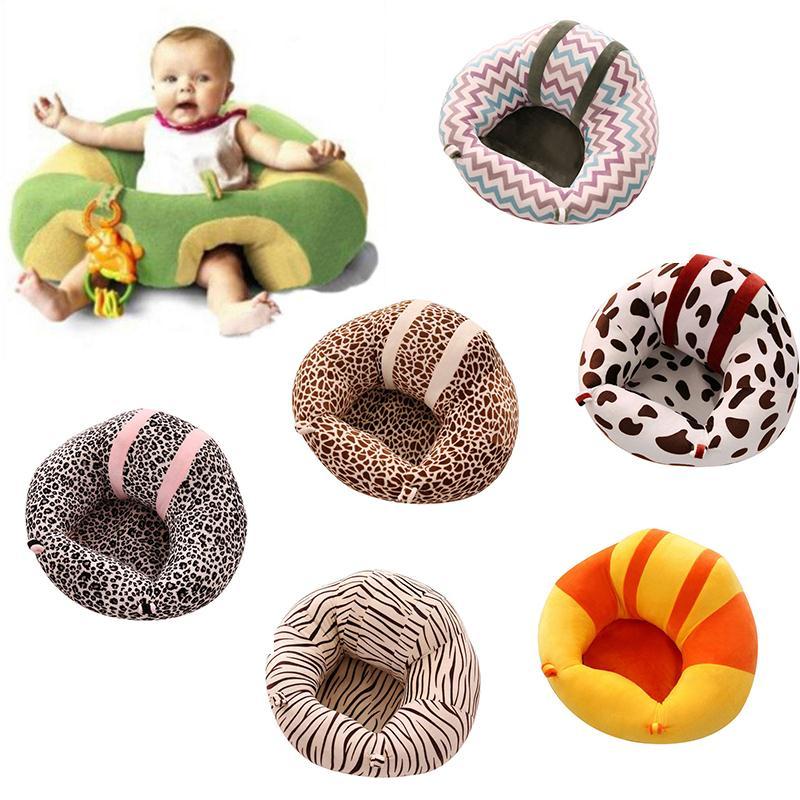 Для маленьких диван Поддержка сиденье Мягкие плюшевые узнать сидя путешествия Автокресло Подушка Плюшевые ноги стул для маленьких детей к... ...