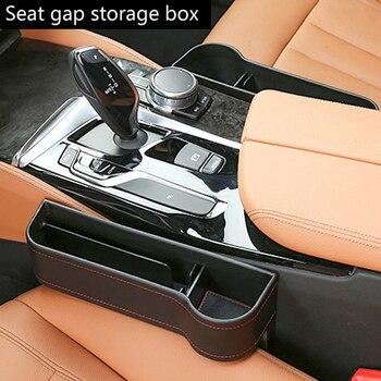 Accesorios para el coche, organizador de la caja para los bolsillos del asiento para Volvo S40 V50 V70 Toyota Corolla Hilux Prius Camry mitsubishi asx lancer 9