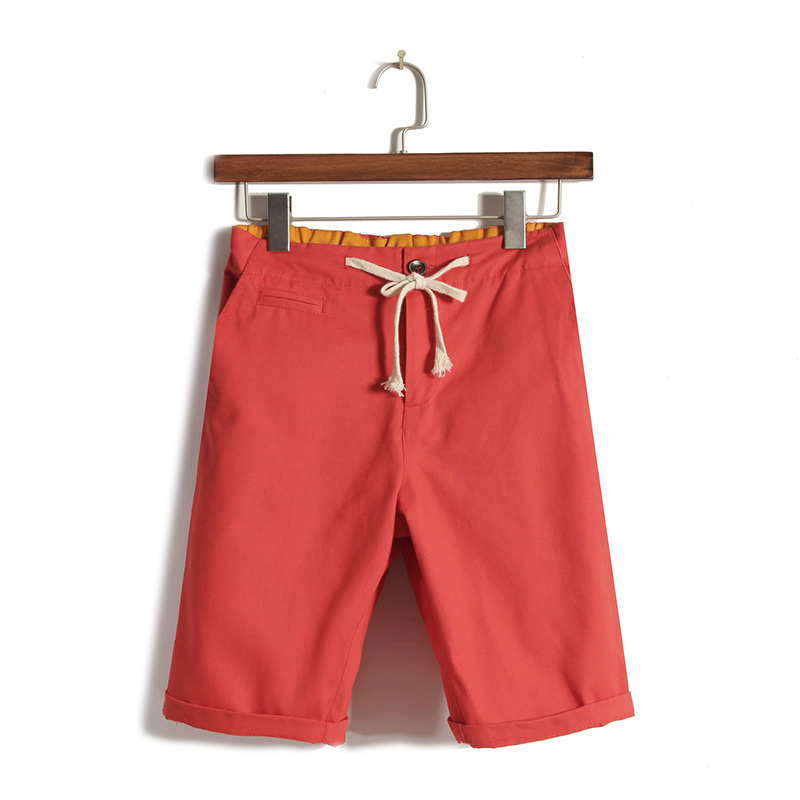 New brand mens shorts casual Men s shorts fashion cotton shorts homme shorts khaki white green