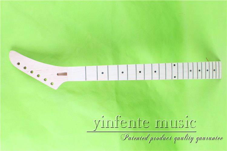 XJ-0068 #    right  25.5 Electric guitar neck   Bolt on  maple       fingerboard fine quality  22 fret casio xj m141