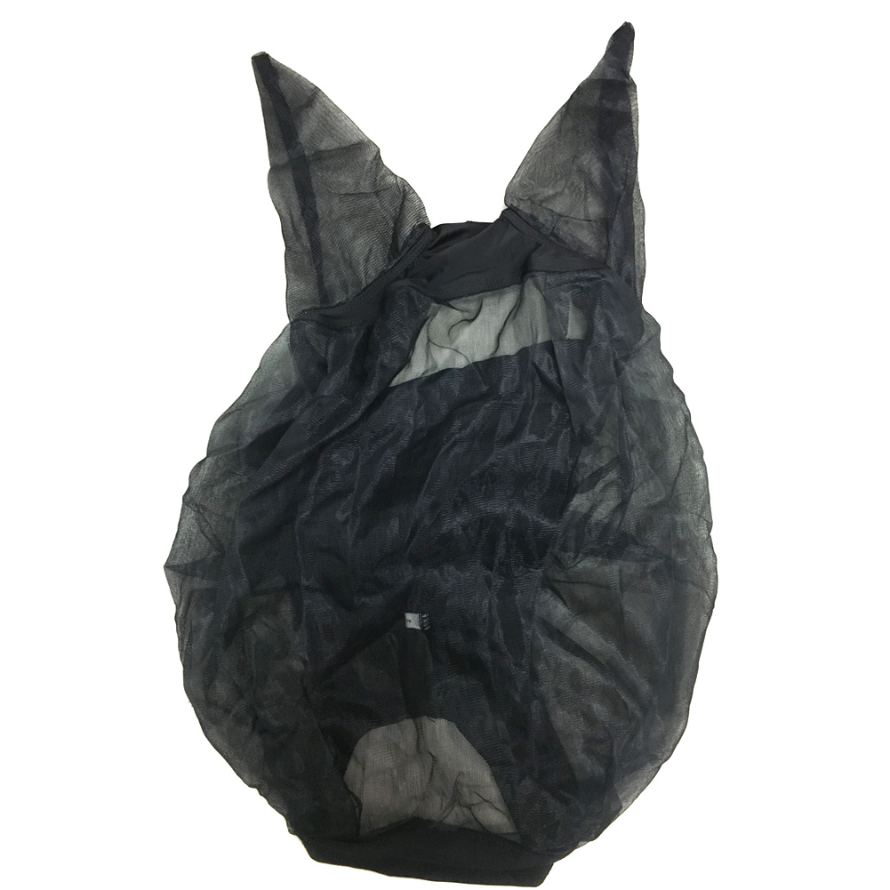 Hot Horse Quiet Ride Anti Fly Mask With Ears Accessories For Mule Donkey DO2