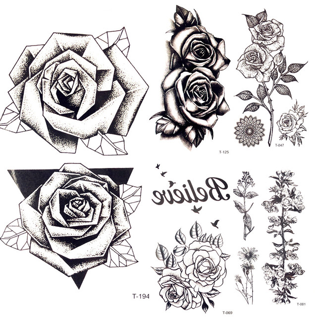 Заказать цветок черная роза