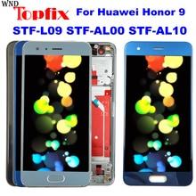 Для Huawei Honor 9 STF-L09 STF-AL00 STF-AL10 ЖК-дисплей Сенсорный экран планшета в сборе с рамкой ЖК-дисплей Экран/Дисплей Замена