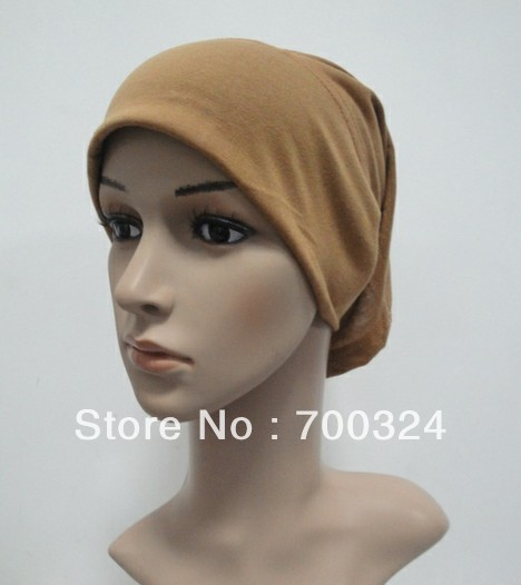 H248a latest designplain tube underscarf,fast delivery,assorted colors