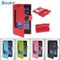 Nokia lumia 920 4.5for duplo vista janela leather flip case para microsoft nokia lumia 920 n920 telefone celular capa case