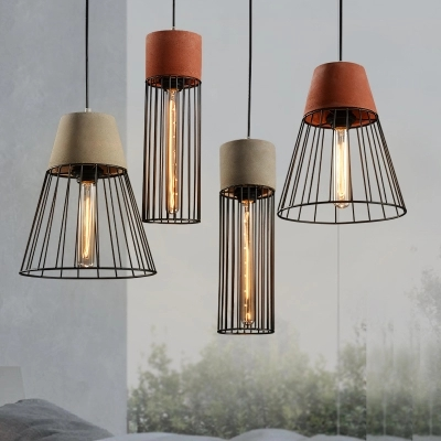 IWHD Cement Vintage Lamp Industrial Lighting Pendant Lights StyleLoft Retro Iron Hanging Lamp Light Fixtures Kitchen Luminaire iwhd loft industrial hanging lamp led iron retro vintage pendant lights fixtures kitchen dining bar cafe pendant lighting
