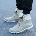 New 4 Colors men shoes Style Fashion High-top Military Ankle Boots Comfortable canvas Shoe fashion Boots men shoes Z254