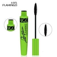 FLAMINGO Makeup Rimel Mascara Curling Eyelashes Eyes Cosmetics Lengthening Fiber Mascara 61119