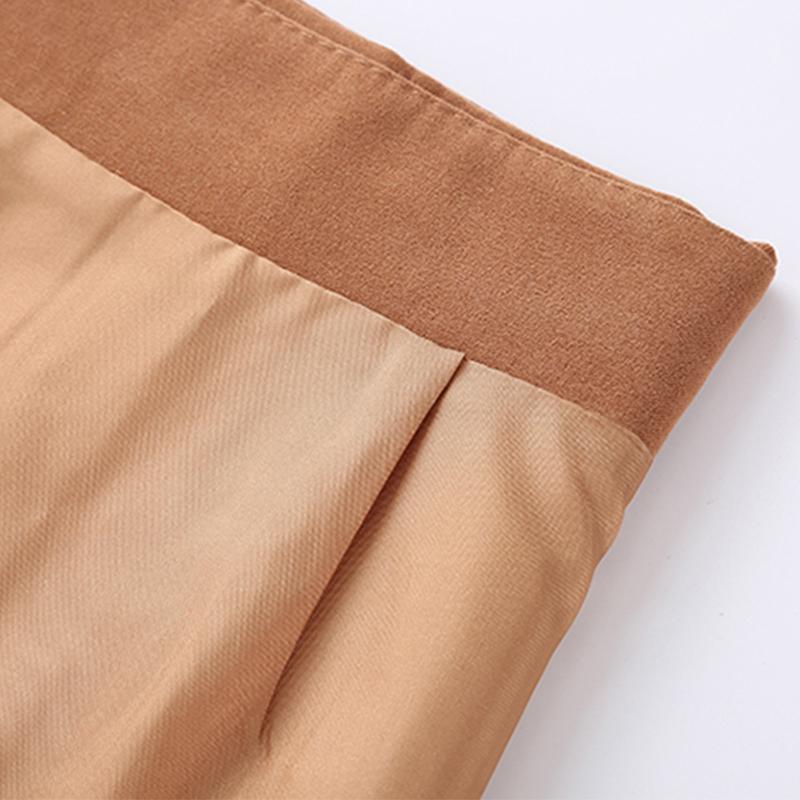 HTB1XkrmgBUSMeJjy1zkq6yWmpXaj - Suede Skirt Fashion High Waist Zippers JKP343