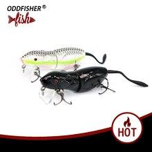 1 шт. рыболовная Реалистичная приманка для мыши жесткая приманка мягкий червь 6 см 10 г 3D глаза кренкбейт яркие плавающие приманки воблер рыболовные снасти крысы приманки