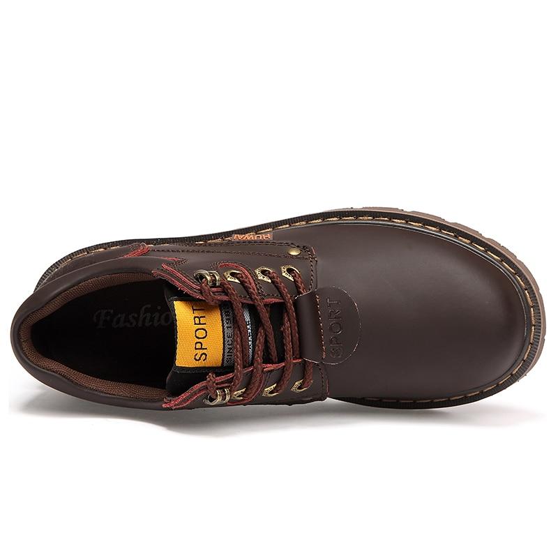 Բնական կաշվե տղամարդկանց կոշիկներ - Տղամարդկանց կոշիկներ - Լուսանկար 6