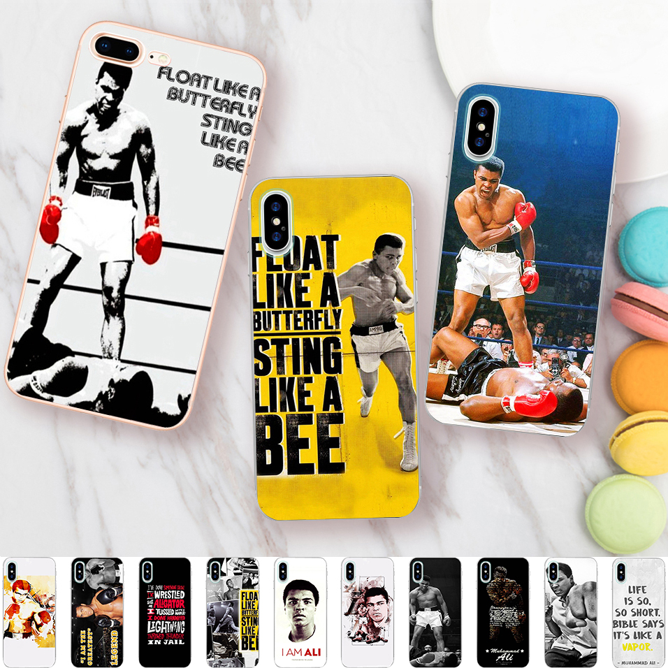 Boxing King Muhammad Ali Case for iPhone X 5 S 5S XR XS