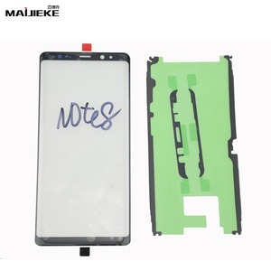 Image 2 - Lente exterior de Panel táctil para Samsung Galaxy Note 10 plus S8 Plus S9 Plus S10 plus S10 S10e Note 9 8, repuesto de cristal frontal