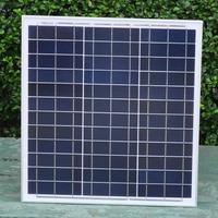 Portable Panel Solar 12v 40w Polycrystalline Solar Battery Charger Phone Car Led Tv Camera Flashlight Light RV Off Grid 190321
