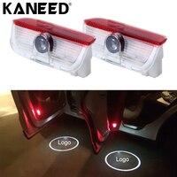 For Volkswagen Door Logo Light Projector 2 PCS LED Car Door Welcome Logo Car Brand 3D