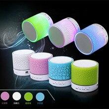 Column LED Mini Wireless TF USB FM Portable Bluetooth Speaker Music Loudspeakers Hand-free call For iPhone 6 Phone PC-30 цена 2017