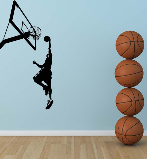 Boys Bedroom Sport Decorative Vinyl Wall Sticker