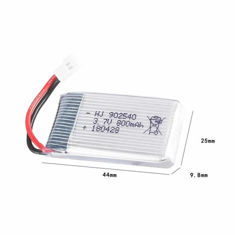 20 pcs/lot 3.7 V 800 mAh Batterie Pour Syma X5 X5C X5S X5HW X5HC X5SW M68 quatre axes Modèle Avion 3.7 V 800 mAh 902540 25C batterie
