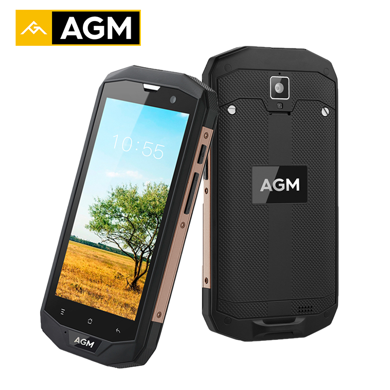 AGM A8 US Android 7 0 Smartphone IP68 Waterproof Qualcommn MSM8916 Quad Core Gorilla Glass 5