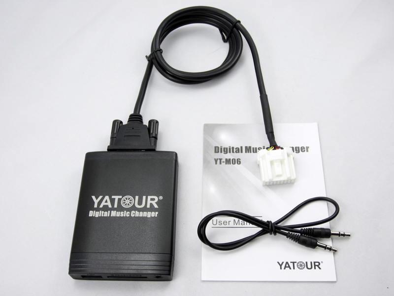 Yatour car Audio for Mazda 2 3 5 6 MPV CX7 Tribute Mp3 Player USB Adapter MP3 AUX Bluetooth interface Digital CD Changer Yt-m06 цены