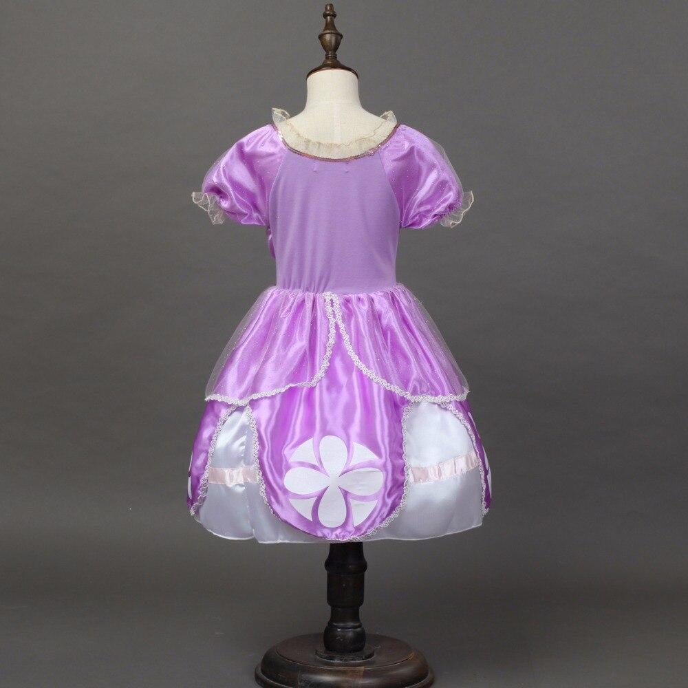 Niñas Princesa Sofía Vestidos niños ropa para niña cóctel vestido ...