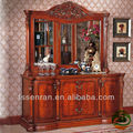 White Wine cooler Classic wood wine cabinet Sideboards