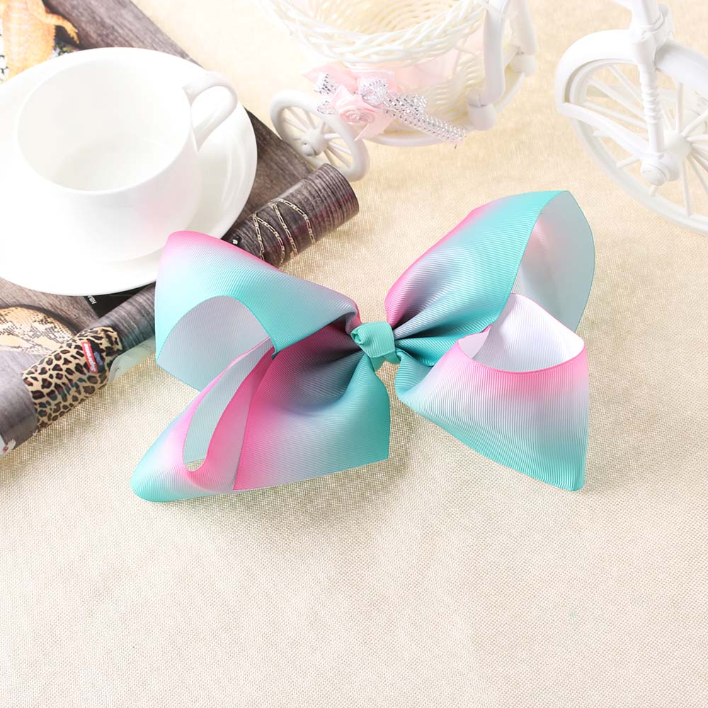 2017 Newest Big bowknot hairpins 8 inch girl barrette large colorful bow hair clip jojo Hair Accessories 2017 newest big bowknot hairpins 8 inch girl barrette large colorful bow hair clip jojo hair accessories