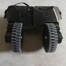 Roda esquerda direita para robô aspirador de pó ilife a4 a4s a40 x451 robô aspirador de pó peças ilife a4 a4s rodas incluem motor