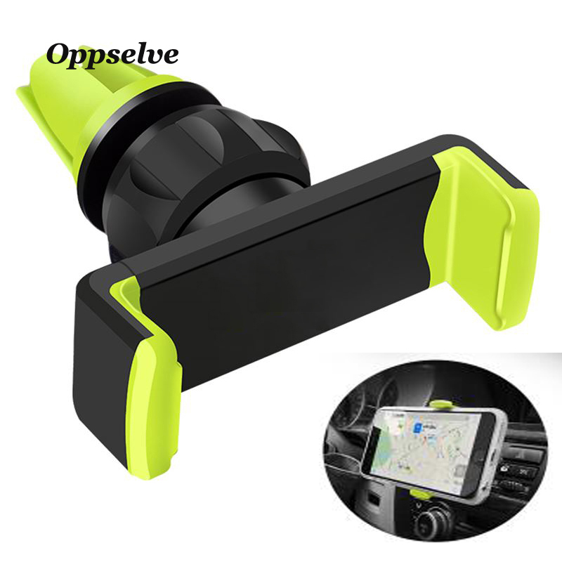 Oppselve Car Phone Holder For iPhone X 10 8 7 6 5S 360 Degree Ratotable Support Mobile Air Vent Mount Car Holder Car Phone Stand