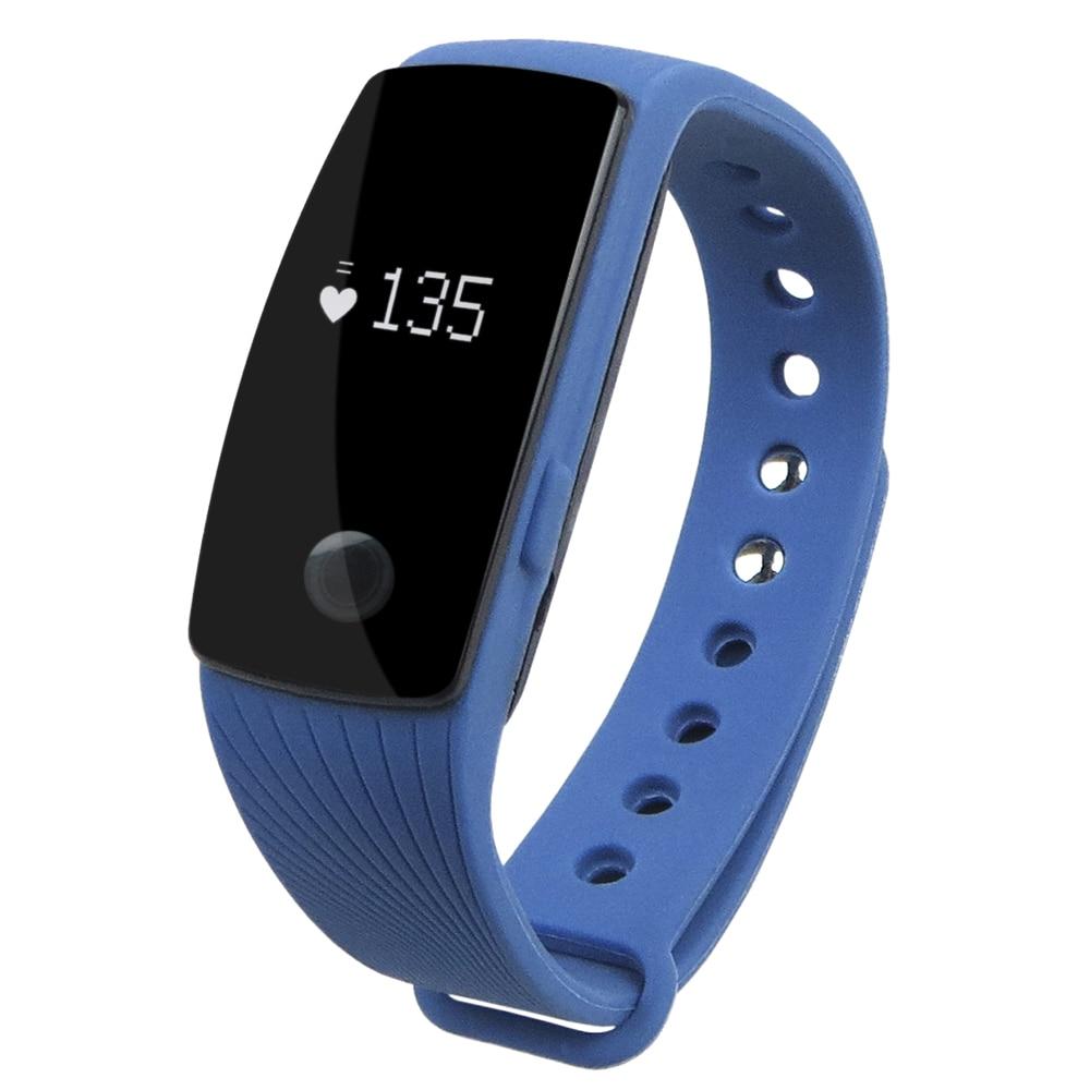2017 Yeni K107 Bluetooth 4.0 Akıllı Izle Kalp Hızı ve Uyku - Erkek Saatleri - Fotoğraf 2