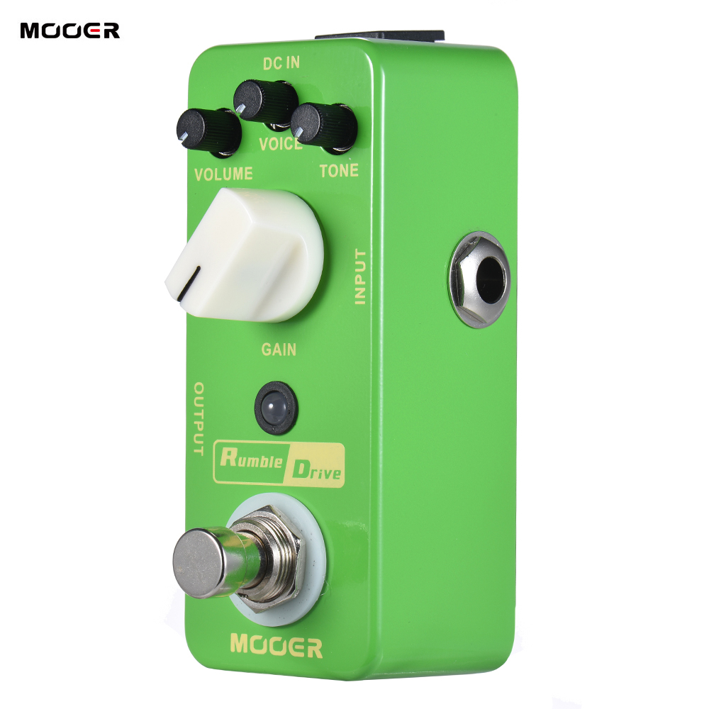 High Quality MOOER Rumble Drive Overdrive Guitar Effect Pedal True Bypass Full Metal Shell Guitar accessoriesHigh Quality MOOER Rumble Drive Overdrive Guitar Effect Pedal True Bypass Full Metal Shell Guitar accessories