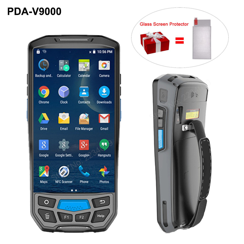 4G wireless PDA Android data collector PDA handheld POS terminal barcode sacnner reader 1D 2D bluetooth