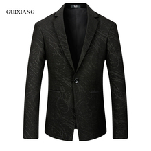2017 new arrival autumn and winter style men boutique blazers high quality fashion casual single button slim men's jacket coat