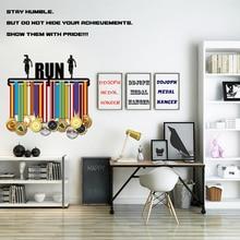 RUN medal hanger Sport display for Runner wall rack gifts runner