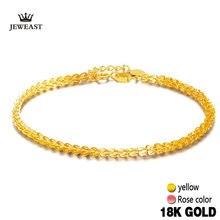 18k czystego złota kobiet bransoletka żółta różana dziewczyna oryginalna naprawdę twarde 750 prezent kobiet bransoletka ekskluzywna gorąca sprzedaż 2020 nowa impreza Trendy