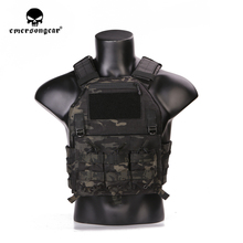 купить emersongear Emerson Tactical Vest 420 Plate Carrier Molle Airsoft Wargame Training Protective Army Vest Body Armor Adjustable онлайн