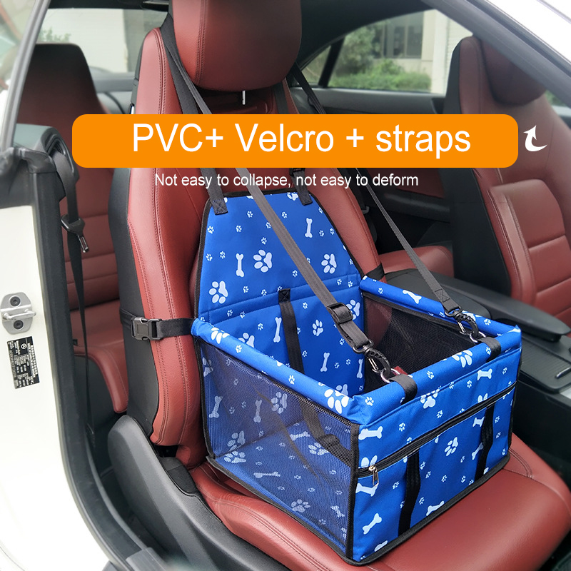 Travel Dog Car Seat Bag Folding Hammock Pet Carriers Bag Carrying For Small Medium Dog Hanging Basket Protector Mat Breathable in Dog Carriers from Home Garden