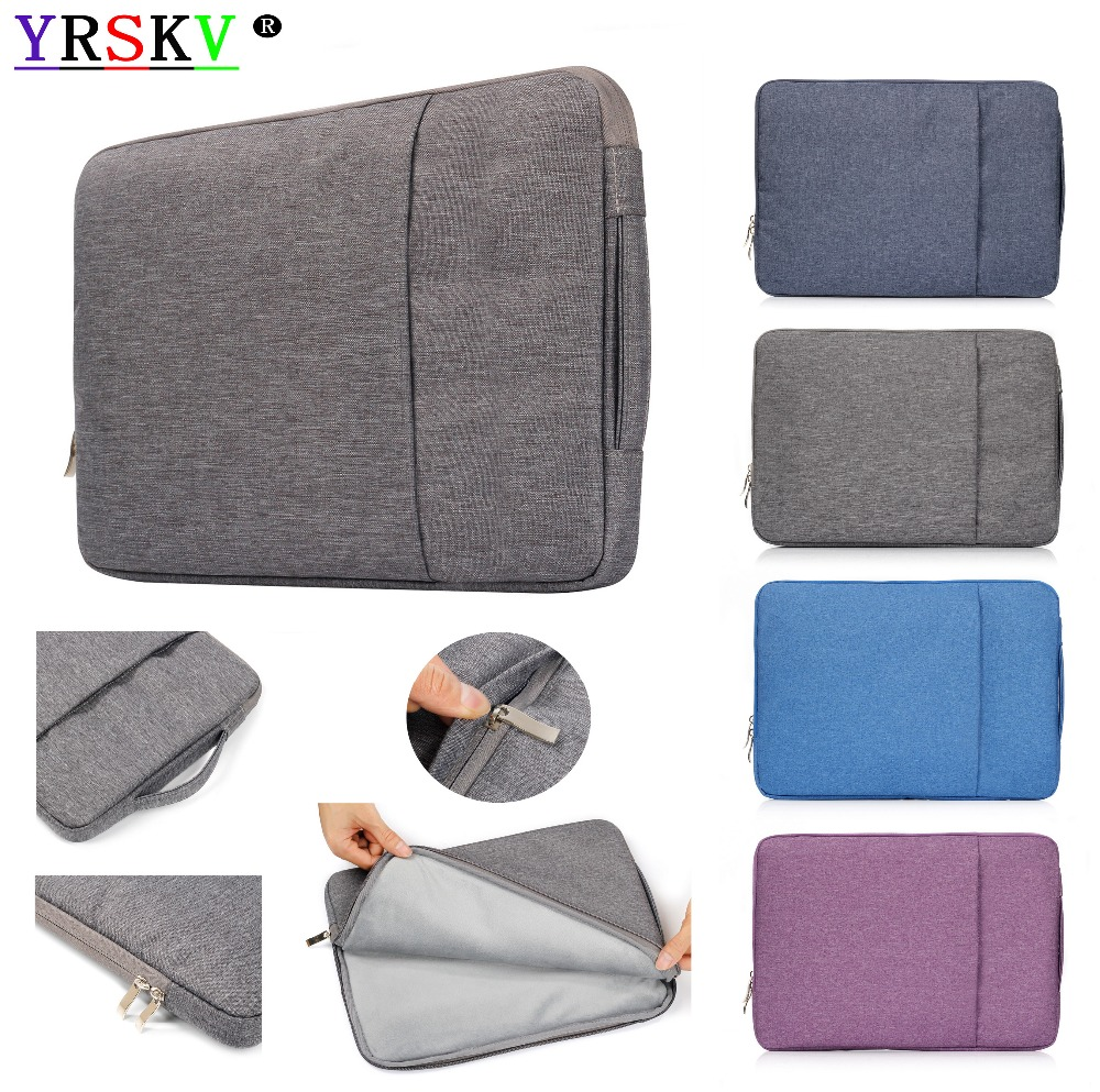 YRSKV New Laptop Sleeve Case For Apple Macbook Air,Pro,Retina,11,12,13,15 Inch Laptop Bags.New Pro 13.3